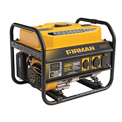 Firman P03607 4550/3650 Watt Recoil Start Gas Portable Generator CARB Certified