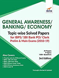 General Awareness, Banking & Economy Topic-Wise Solved