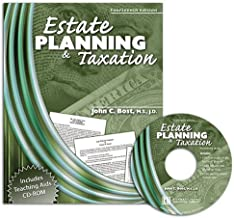 ESTATE PLANNING AND TAXATION W/ CD ROM