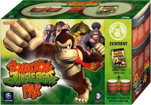 Donkey Kong Jungle Beat (Manette Bongos incluse)