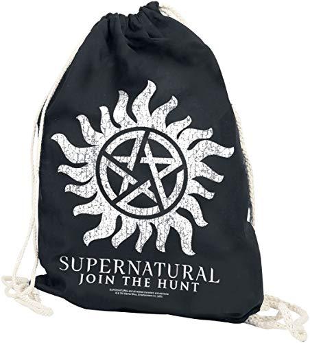 Supernatural Anti Possession Unisex Turnbeutel Multicolor 100% Baumwolle Fan-Merch, TV-Serien