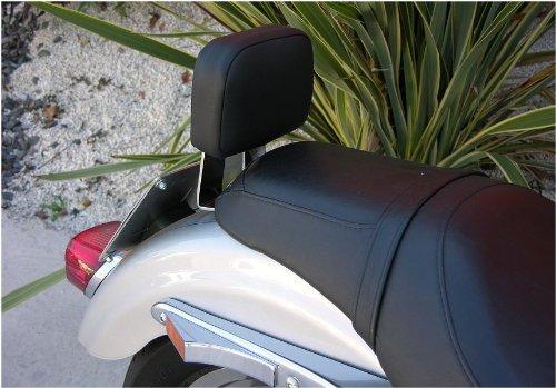 Dossier pour passager arrière Sissy Bar Sissybar chrome chromer à démontage rapide pour Harley Davidson Sportster XL 883 1200 Custom Roadster Super Low Seventy Two 1200L 1200N Nightster Iron 883I 883R 1200r 1200C