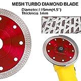 Zoom IMG-2 disco diamantato 115mm sottile professionale