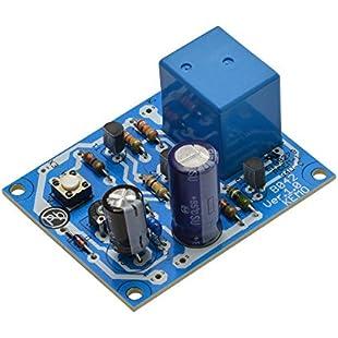 Kemo Electronic - KIT Interruttore a tempo regolabile 2 sec - 5 min a pulsante 12V DC con relè