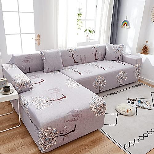 Patrón de Color Funda de sofá Funda elástica Universal para sofá Funda de protección para niños elástica para Mascotas Refrescar el Viejo sofá A4 de 3 plazas