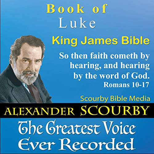 Book of Luke, King James Bible cover art