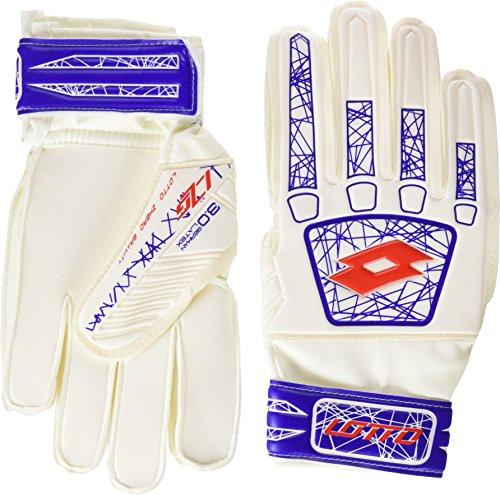 Lotto Glove LZG 900JR Fußballschuh Kinder, Unisex, Weiß/Rot, 40