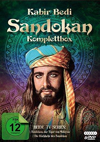 Sandokan - Komplettbox (Der Tiger von Malaysia & Die Rückkehr des Sandokan) (6 DVDs)