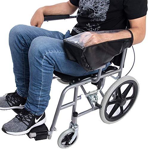 LZW Elektrisches Rollstuhl-Bedienfeld wasserdichte Abdeckung Rollstuhl-Joystick-Abdeckung, wasserdichte Rollstuhl-Power-Abdeckung, Schutzhülle für Rollstuhl- und