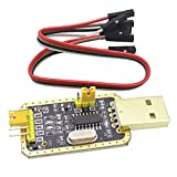 FANMENGY módulo de fuente de alimentación de oro Litro CH340G RS232 a TTL USB a módulo serie Actualización de placa pequeña en nueve cepillo línea punto Steuermodul