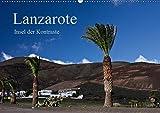 Lanzarote (Wandkalender 2019 DIN A2 quer): Insel der Kontraste (Monatskalender, 14 Seiten )