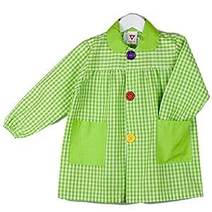 KLOTTZ - BABI CUADROS GUARDERIA Niñas color: PISTACHO talla: 5
