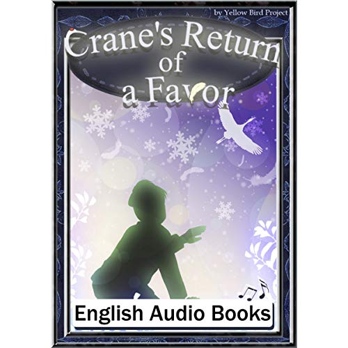 『Crane's Return of a Favor(つるのおんがえし・英語版)』のカバーアート