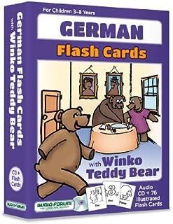 German Flash Cards with Winko Teddy Bear (CD/Flash Cards)