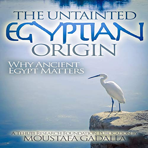 The Untainted Egyptian Origin audiobook cover art