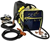 CANAWELD MIG Welder MIG Stick Welding Machine 220 Volt IGBT 200 Amp Flux Cored Inverter Stick Mig detachable Torch Weld Thickness 24 gauge to 1/2 inch MIG STICK 202 Made in Canada 3 Years Warranty