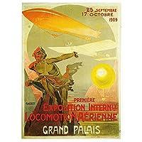 JLFDHR ヴィンテージWw2プロパガンダポスターファシズムへの死!古典的な帆布の絵画ヴィンテージの壁のポスター家の装飾-50X70Cmx1フレームなし