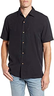 Tommy Bahama Mens Graphic Embroidered Button-Down Shirt
