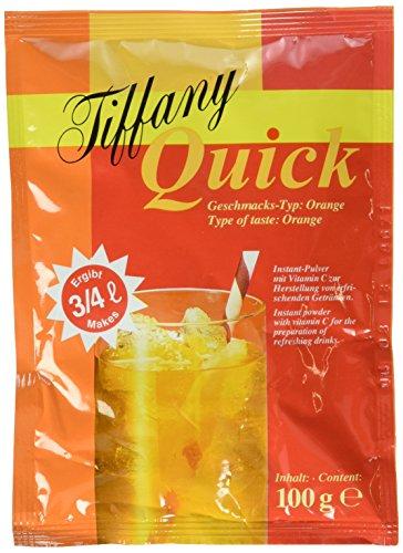Tiffany Quick Orange Instant-Pulver, 25er Pack (25 x 100 ml)