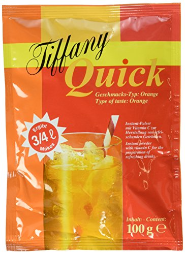 Tiffany Quick Orange Instant-Pulver, 25er Pack (25 x 100 ml)