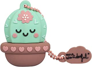 Chiavetta USB 16 GB Cactus - Memoria Flash Drive 2.0 Originale Mr Wonderful, Tribe FD038503