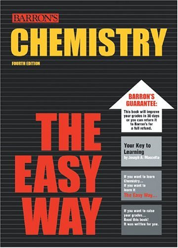 Chemistry The Easy Way Easy Way Series