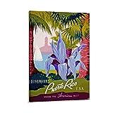 EWRW Puerto Rico Retro-Vintage-Reise-Poster, Gemälde auf