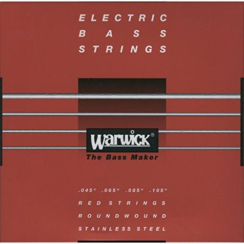 Warwick Red Label 4-String Bass Guitar StringsMedium - 45-105