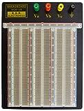 RSR Solderless Clear Breadboard - 2,390 Tie...