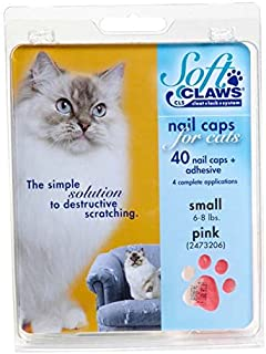 Soft Claws Pink Cat Nail Caps