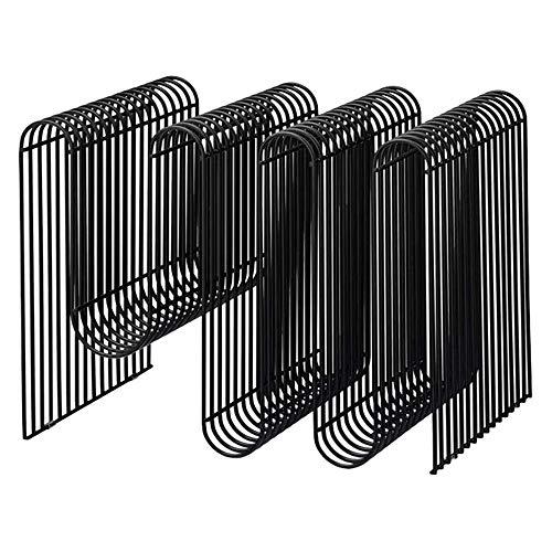 TYUIO Titular decorativo metal moderno de la revista del soporte de pared,...