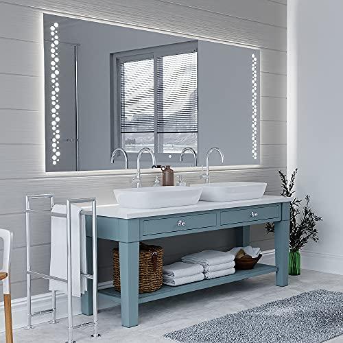 ARTTOR Specchio LED - Specchiera Bagno Grande o Piccolo - Decorazione Parete - Arredamento Casa - Varie Dimensioni - Decorazione Dell'appartamento E Attrezzatura del Bagno - M1ZD-45-70x70