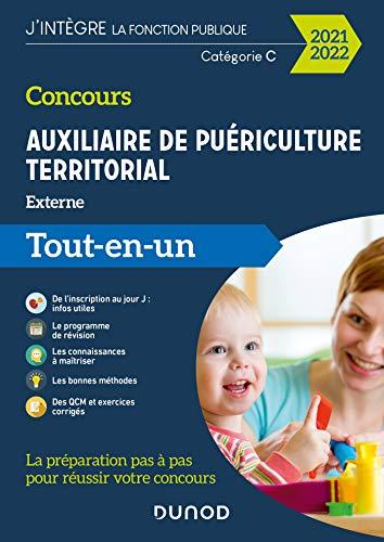 Concours Auxiliaire de puériculture territorial 2021-2022 : Tout-en-un (French Edition)