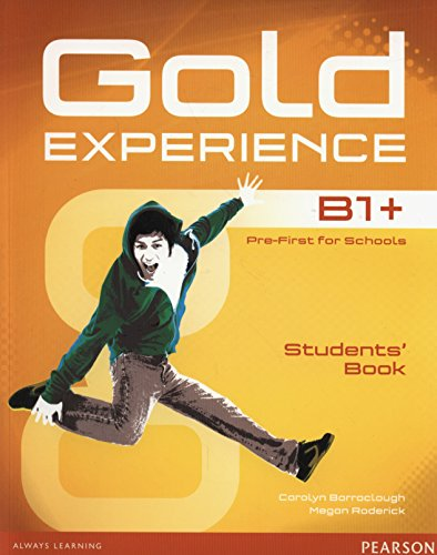 Gold Experience B1+ Students Book + DVD