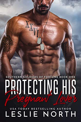 Protecting His Pregnant Lover by Leslie North