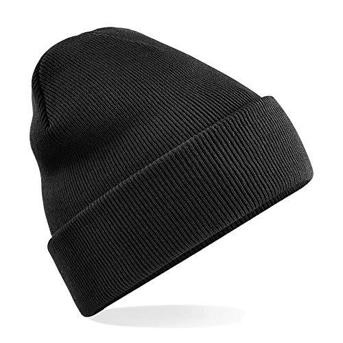 Beechfield - Winter Strickmütze Einheitsgröße,Black