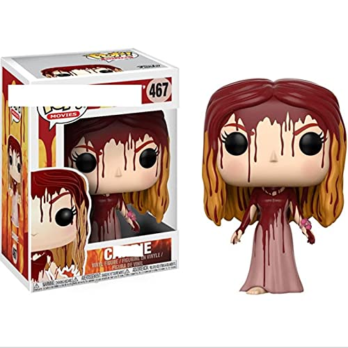 QTSL Pop Figures Movies Series Carrie #467VinylactionFigure Toys Collection Model Dolls Gifts For Children Xmas with Box 10Cm