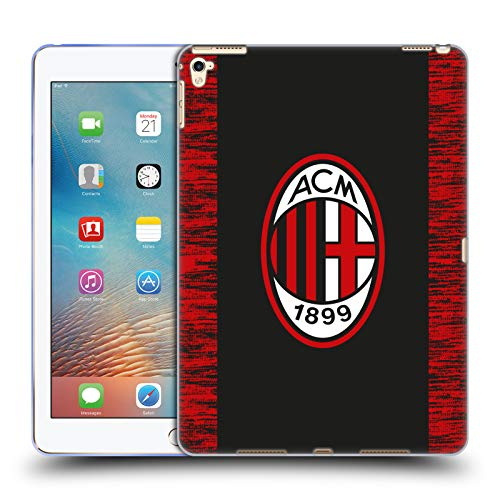 Official AC Milan Third 2018/19 Crest Kit Soft Gel Case Compatible for Apple iPad Pro 9.7 (2016)