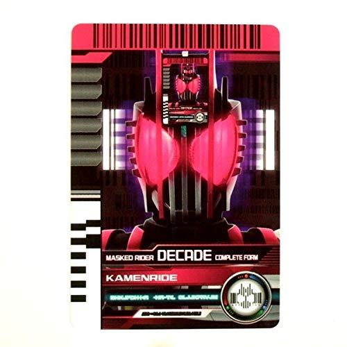 ◆仮面ライダーディケイド ライダーカード KR 最強 10 ディケイド コンプリートフォーム DXネオディエンドライバー