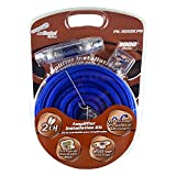 Audiopipe PK-3000CPR Copper Series 0 Gauge 3000 Watt Amplifier Wiring Installation Kit for Car Audio, Subwoofer, Stereo, and Speaker Systems