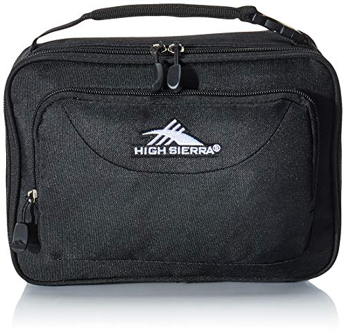 High Sierra Single Compartment Lunch Bag, One Size, Black