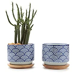 Japanese Flower style Flower Pot