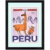 QINGRENJIE Peru Travelling Quote Leinwand Kunstdruck Poster