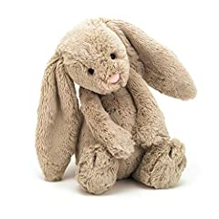 Size: 12 inches tall Suitable from birth Made of polyester, plastic pellets/eyes Spot clean only Designed by Jellycat in London, UK