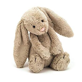 Jellycat Bashful Beige Bunny Stuffed Animal Medium 12 inches