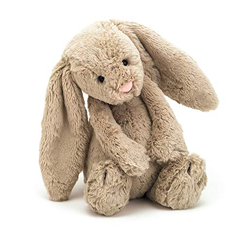 Jellycat Bashful Beige Bunny Stuffed Animal, Medium, 12...