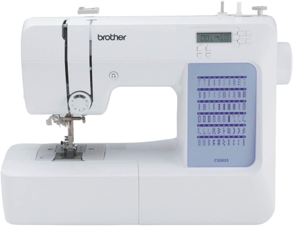 Brother CS5055 Computerized Sewing Al sold out. Stitches Built-in Machine Popular products 60
