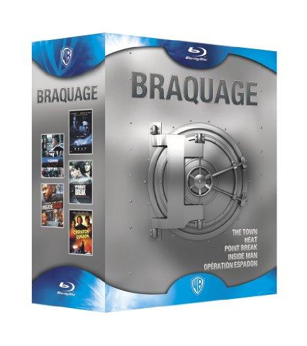 Braquage-Coffret-The Town + Heat + Point Break + Inside Man + Opération Espadon [Édition Limitée]