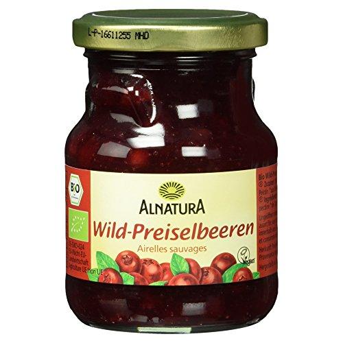 Alnatura Bio Wildpreiselbeeren, 8er Pack (8 x 220 ml)