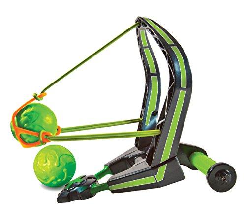 Diggin Slimeball Slinger. Toy Sling-Shot for Kids. Ball Launcher Squishy Shooter